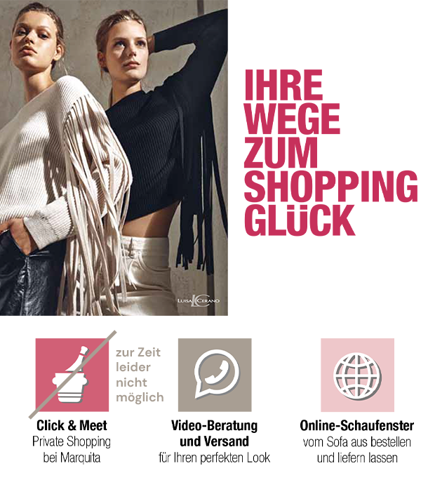 Ihre Wege zum Shoppingglück